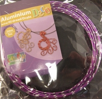 Diamond cut wire lilac