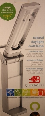 natural daylight craft lamp