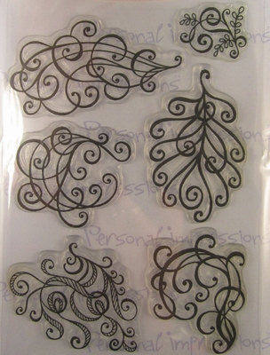 Clear stamps Presonal impressions