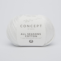 All seasons cotton - Wit
