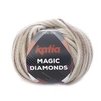Magic diamonds - Wit/Bruin/Ecru