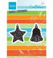 Craftables Tiny's ornament star and bell