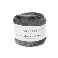 Air Alpaca Degradé - Grijs