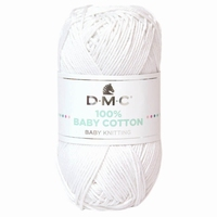 Baby cotton 100% - Wit