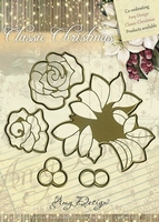 Cutting & Embossing Stencil, Roses