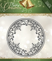 Cutting & Embossing Stencil, Snowflake Circle