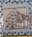 Clear stamps, Bunny with flowers