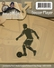 Cutting & Embossing Stencil, Soccer Player